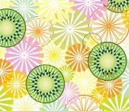 Citrus and kiwi Stock Photos