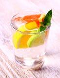 Citrus lemonade from grapefruit, lemon and lime Royalty Free Stock Images