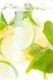 Citrus lemonade in pitcher  , closeup Stock Image