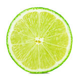 Citrus lime fruit half Stock Images