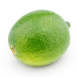 Citrus lime fruit isolated on white Royalty Free Stock Photography