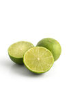 Citrus lime fruit isolated on white background Royalty Free Stock Photo