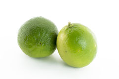 Citrus lime fruit. On white background Stock Photo