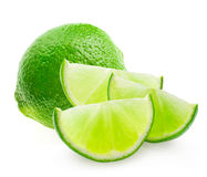 Citrus lime fruit Stock Images
