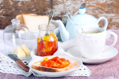 Citrus marmalade Royalty Free Stock Images