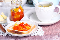 Citrus marmalade Stock Images
