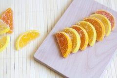 Citrus marmalade. Tasty sweet desert Stock Image