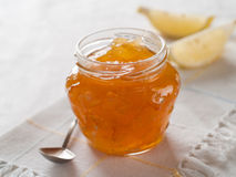 Citrus (orange)  jam Royalty Free Stock Image