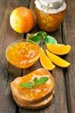 Citrus orange jam Stock Images