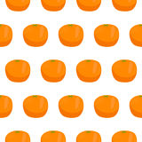 Citrus orange seamless pattern Royalty Free Stock Photos