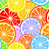 Citrus pattern Stock Photo