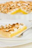 Citrus pie royalty free stock image
