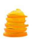 citrus pyramid Arkivfoton
