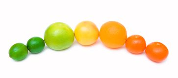 citrus rainbow Royalty Free Stock Photos