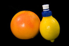 Citrus refreshment Royalty Free Stock Images