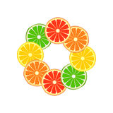 Citrus ring Royalty Free Stock Photo