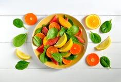 Citrus salad Stock Images