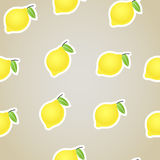 Citrus seamless background. Lime Stock Photography