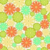 Citrus Seamless - Illustration Stock Image