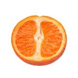 Citrus skiva för tangerin Fotografering för Bildbyråer