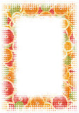 Citrus slice frame. Frame made of miscellaneous citrus slices. See more citrus slice images in this series in my portfolio stock photo
