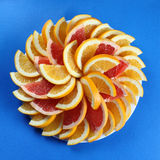 Citrus slices. Royalty Free Stock Image