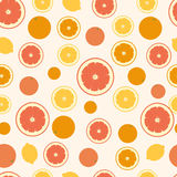 Citrus slices background Royalty Free Stock Photography