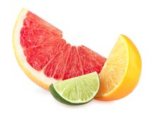 Citrus slices Royalty Free Stock Photos