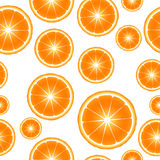 Citrus slices seamless pattern background Royalty Free Stock Photos