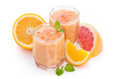 Citrus smoothie Stock Photo