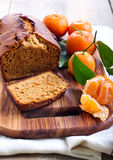 Citrus spice cake Stock Image