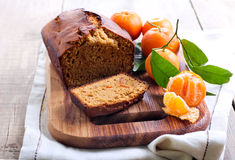 Citrus spice cake Royalty Free Stock Photo
