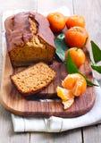 Citrus spice cake Stock Images