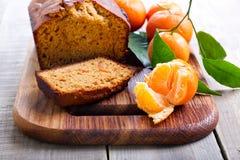 Citrus, spice cake Royalty Free Stock Photos