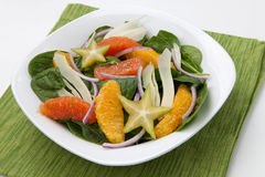 Citrus Spinach Salad Royalty Free Stock Images