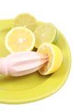 Citrus squeezer stock images