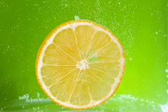 Citrus squeezer with lemons Royalty Free Stock Photography
