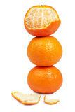 Citrus stack Stock Photography