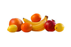Citrus. Sweet fruits rich in vitamins tasty and beautiful Stock Photos