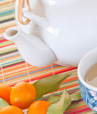 Citrus tea Stock Photography
