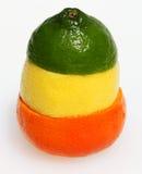 citrus ttraffic kombinationsfruktlampa Royaltyfri Fotografi