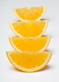Citrus. On white bg isolated Stock Images