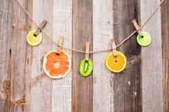 citrusa nya frukter Styckfrukter arkivbild