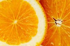 Citrusa skivor. Fotografering för Bildbyråer