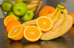 Citrusfruktbakgrund Arkivfoto