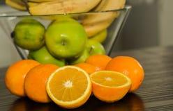 Citrusfruktbakgrund Royaltyfri Fotografi