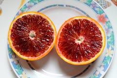 Citrusfrukter av Sicilien - Italien Royaltyfria Bilder