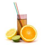 citrusfruktfruktsaft Fotografering för Bildbyråer