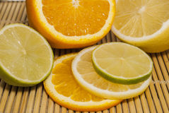 citrusvrucht Stock Afbeelding