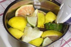 Citrusvrucht Aromatherapy Royalty-vrije Stock Foto